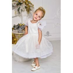 Белое платье Swan лебедь